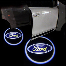 Automotive car door light Car styling for Ford Focus Fiesta Mondeo Edge Ecosport Kuga Welcome light . Car light(China (Mainland))