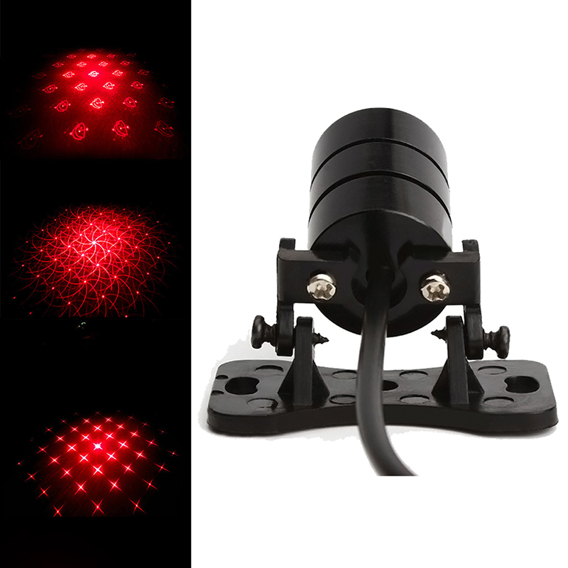 Car Laser Tail 12v led Fog Lights Auto Brake Parking Car-Styling Warning Lights Car Styling Accessories #LY0161(China (Mainland))