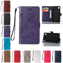 Buy Sony xperia M4 Aqua Dual E2333 Case Butterfly Flip Phone Leather Cover Sony M 4 M4Aqua E2303 E2353 E2306 E2312 E2363 for $4.18 in AliExpress store
