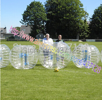Free shipping 1.8m pure TPU adults inflatable bubble football/loopy ball/bumper ball(China (Mainland))