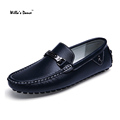Willa s Dance Men Shoes 2016 Fashion Genuine Leather Shoes for Men Loafers Brand Moccasins Casual
