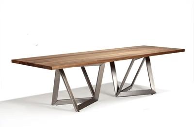 fran ais loft olien industriel bois forg table manger de fer bureau table de conf rence. Black Bedroom Furniture Sets. Home Design Ideas