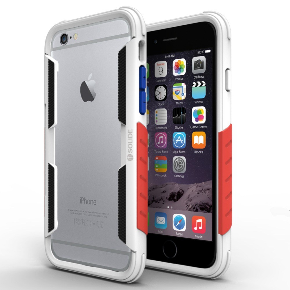 SOLIDE ARES limited edition Case Rubber TPE Silicone Shockproof bumper Case For iPhone 6 6S plus Anti-shock Phone Case(China (Mainland))