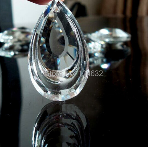 20 Transparent Chandelier Glass gorgeous  Crystal Healing Pendulum Lamp Prisms Hanging Pendants Rainbows 3M02250-3C<br><br>Aliexpress