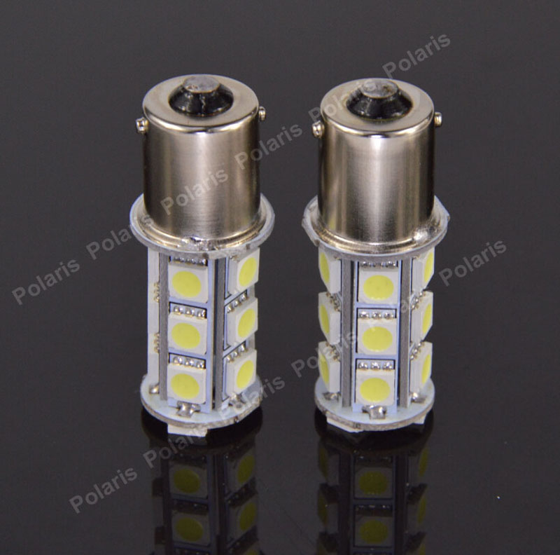 20pcs High Quality P21W BA15S 1156 18 SMD 5050 LED Tail Light Brake Parking Fog Turn Signal Light 18SMD DC 12V Lamps 18Led(China (Mainland))