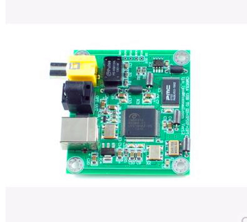 Free Shipping!!! CM6631A USB transfer SPDIF / support coaxial / optical output / 24 / 384K sampling /Electronic Component(China (Mainland))