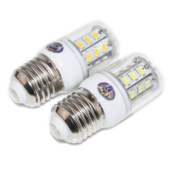 Hotselling E27 SMD5730 LED Corn Bulb 9W 24LEDS mini LED Light 220V/110V Warm White/white E27 SMD 5730 Led Lamps in living room(China (Mainland))