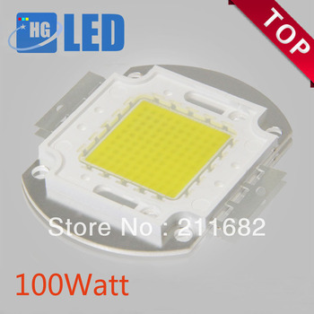 8pcs/lot Free Shipping 100W 8000-9000LM High Power LED chip LED Bulb IC SMD Lamp Light White Blue Green White Yellow .Warm White