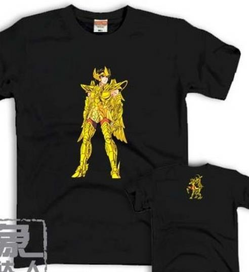 Sagittarius OP new Saint Seiya; Gold Saint 12 constellations Athena Men and women T-shirt lovers DREAM;(China (Mainland))