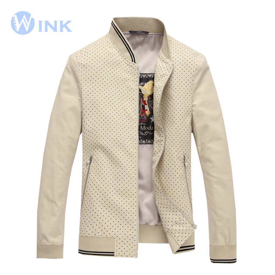 Здесь можно купить  Men Cotton Jacket Sport Jacket Coat Baseball Collar Jacket Male Slim Fit Fashion Casual Brand Design Outerwear Euro Size H116  Одежда и аксессуары