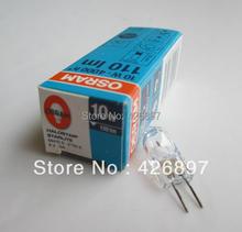 OSRAM 64410S 6V 10W bulb,HALOSTAR STARLITE UV filter,microscope lighitng,64410 S 6V10W G4 4000 hours tungsten halogen lamp(China (Mainland))