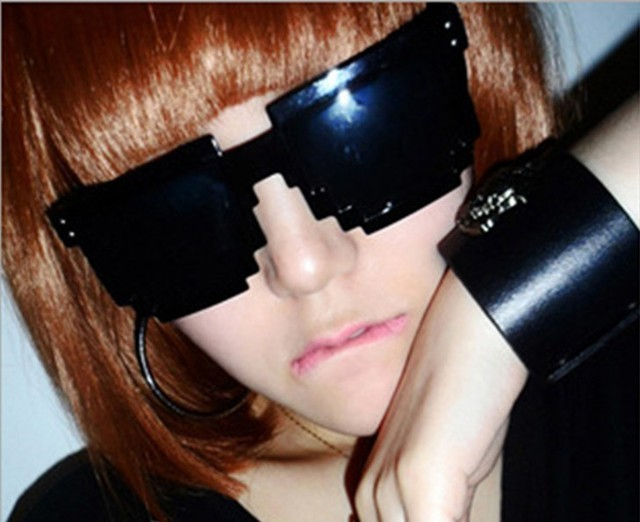 2013 new special section mosaic sunglasses unisex sunglasses