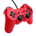 USB Wired Game Controller Gamepad Joystick controle Duo vibration motor Shock Vibration For Windows PC