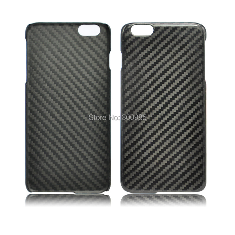 NAPOV 0.7mm Ultra Thin 100% Real Carbon Fiber Case Cover For iPhone 6 ,For iPhone 6 Plus (Free clear case and screen protector)(China (Mainland))
