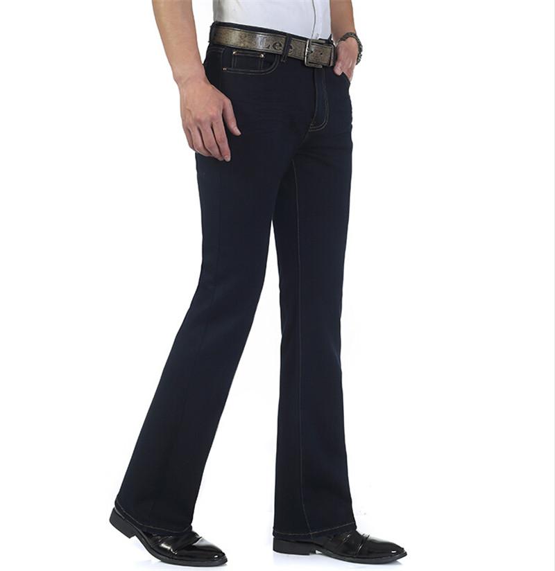 Popular Bell Bottom Pants for Men Black-Buy Cheap Bell Bottom ...