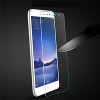 High Clear Anti-Scratch 9H 2.5D 0.26mm Tempered Glass Screen Protector Skin Cover Protect Film Set For Xiaomi Redmi Note 3