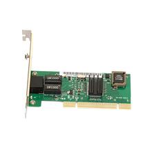 New PCI 10/100/1000 Gigabit 1000M 1G Ethernet Network Lan Card Work Windows 7(China (Mainland))