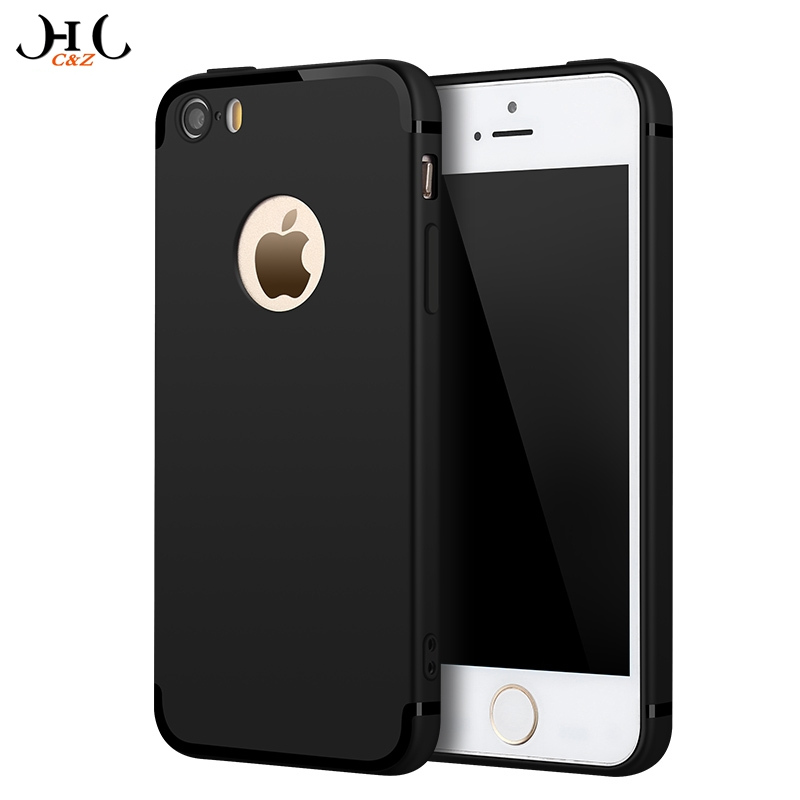 HCCZ High quality Elegance Luxury TPU Matte soft Silicone case for Apple iPhone 5 5S SE Frosted Ultra-thin Full cover Phone case(China (Mainland))