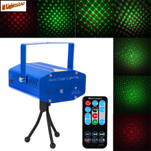 Buy Mini Projector LED Laser Projector Stage Lighting Adjustment DJ Disco Party Club Light Party Wedding Club Projector for $21.06 in AliExpress store