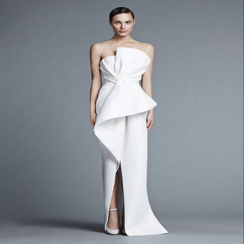 Compare Prices on Strapless White Gown- Online Shopping/Buy Low ...