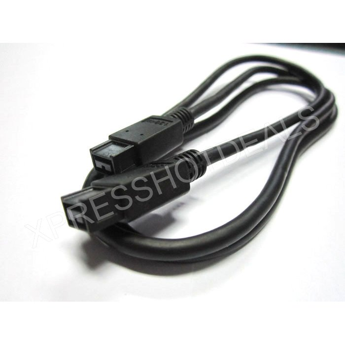 6 FT 9 to 9 PIN IEEE1394B iLINK FIREWIRE 800 CABLE For PC DV MAC 6FT(China (Mainland))