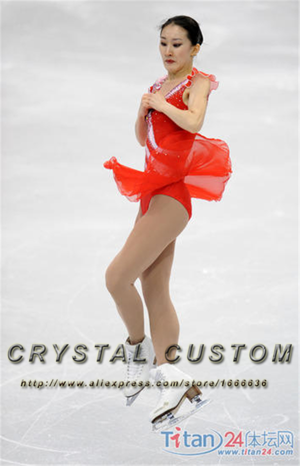 Womens Figure Skating Dresses Fashion New Brand Competition Ice Skating Dresses DR3338(China (Mainland))
