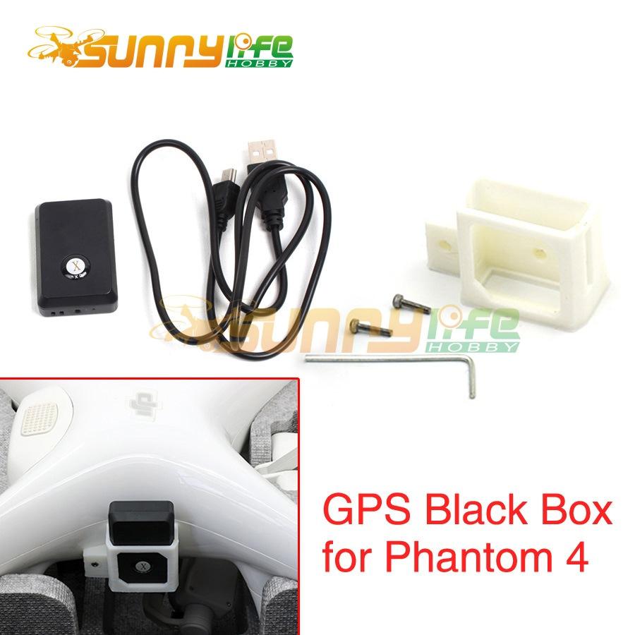 Phantom 4 GPS Black Box Locator with Mounting Bracket Holder Audio Video Position Feedback Lost & Found for DJI Phantom4(China (Mainland))