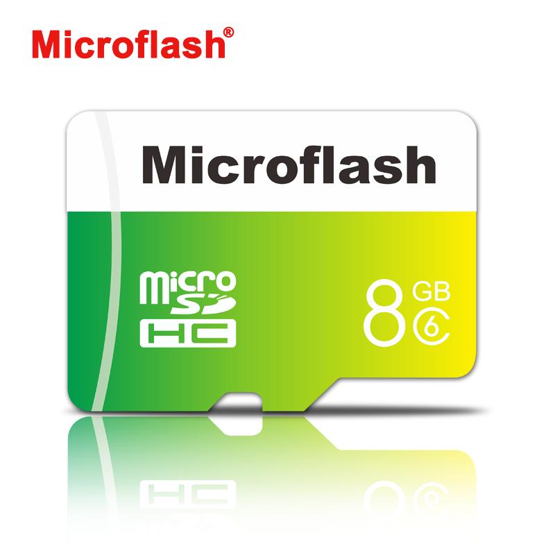Microflash memory card 8GB micro sd card class10 flash TF card microsd for smartphone tablet camera(China (Mainland))
