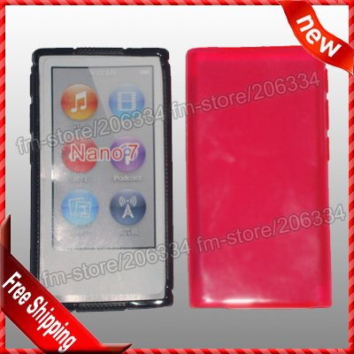 Чехол для MP3 / MP4 Hcycase 7 apple Ipod Nano 7case , DHL 100pcs/lot For Ipod Nano 7 apple ipod nano chromatic 4g 8gb