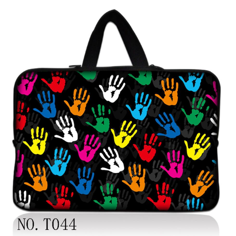 """Colorful Hands Laptop Sleeve Case Bag +Hide Handle For 15""""-15.6"""" Sony HP Dell Samsung Acer(China (Mainland))"""
