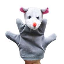 Best-seller Cute Big Size Animal Glove Puppet Hand Dolls Plush Toy Baby Child Zoo Farm Animal Hand Glove Plush Toy Jan8(China (Mainland))