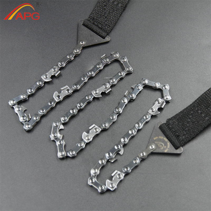 Hot sale free shipping  Pocket Chain Saw With Pouch cheap camping saw chain<br><br>Aliexpress