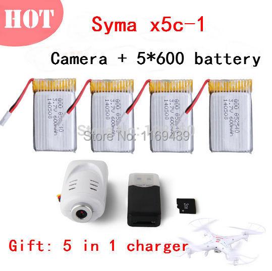 100% New Original SYMA X5 / X5C Quadrocopter Helicopter Parts 2.0MP HD Camera +
