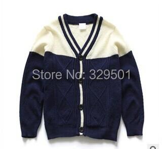 Free shipping 2015 Spring Children clothing,kids sweater,boys cardigans,baby sweater,girls sweater,leisure cardigan sweater(China (Mainland))