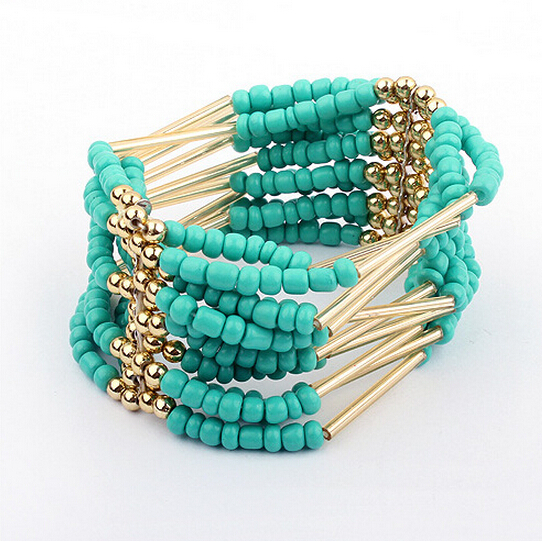 2015 new fashion high end jewelry metal multilayer