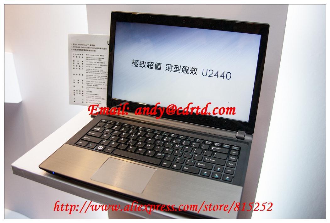Laptop Keyboard for Gigabyte U2440 U2440M U2440N black with black frame UK the United Kingdom(China (Mainland))