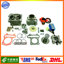 GY6 80cc 47mm Big Valve Cylinder & Head Kit with Spark Plug Racing CDI and other accessories Znen Roketa Baotian Free Shipping(China (Mainland))