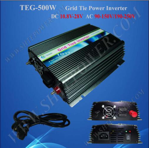 Stack Multiple Machines 24v 500w inverter solar grid for 120v or 230v ac country(China (Mainland))