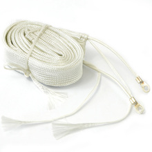 White Exhaust Thermal Warp Tape Stainless Electric Heating Band Ties 1M T0265 P31(China (Mainland))