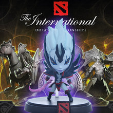 Valve Icefrog MOBA Strategy MMO Game Dota2 The International Seattle Competition VS Vingeful Spirit Wrath Action Figure Doll