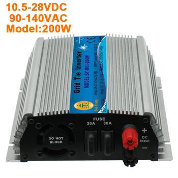 200W/120V solar  grid tied  inverter, Small volume, convenient installation