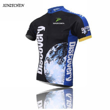 Buy 2016 New Discovery Mens Cycling Jersey Shirt Short Sleeve Road Bike Bicycle Clothing Ropa Ciclismo Breathable Riding Bike Jersey for $11.97 in AliExpress store
