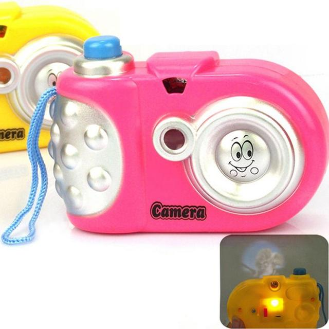 Baby Toys Light-Emitting Toy camera Cartoon Projection Camera Children Educational Toy #45