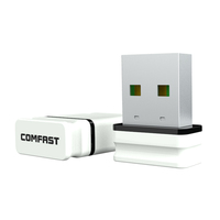 Mini USB WiFi Adapter RTL 8188EUS Comfast CF-WU810N adaptador 150M wireless wifi access point usb wifi dongle adaptador wifi usb