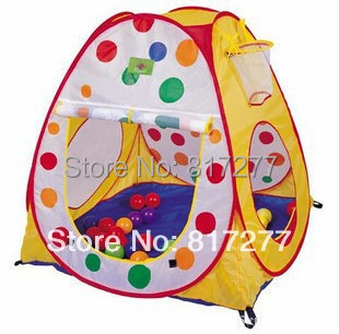 Wholesales 3 pcs/lot Toy Play tents play house Colorpoint game house children baby's playing Indoor&Outdoor christmas gift ZP015(China (Mainland))