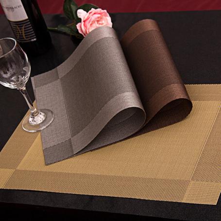 4 Шт./лот Placemat мода пвх обеденный стол мат дисковые колодки чаша pad подставки водонепроницаемый скатерть pad скольжению pad