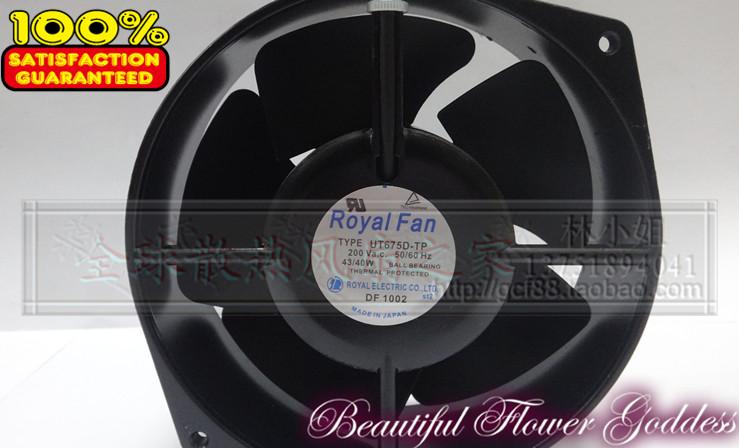Royal fan 172 150 55mm 200v ut675d-tp cooling fan<br><br>Aliexpress