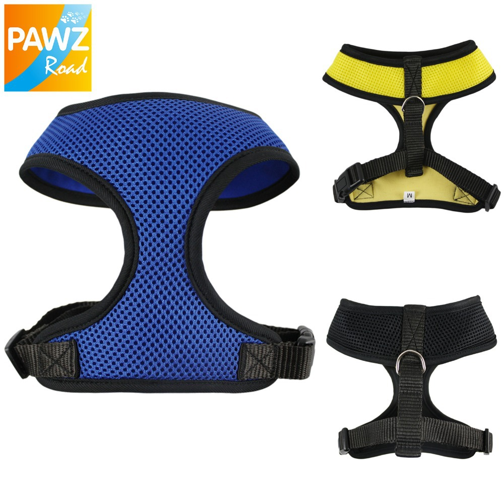 PAWZ Road Dog Harness Dog Cat Summer Harness Leash Pet Product Fashion Design Mesh Fabric Leads Puppy Comfortable Safty Harness(China (Mainland))