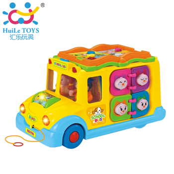 Department of music bus 796 bus toy child puzzle toy multifunctional bus