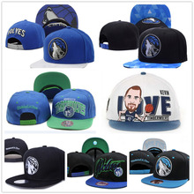 2016 latest Basketball Caps Timberwolves forest wolf Baseball Cap Adjustable Men women Snapback hip hop hat Fashion Sport stars(China (Mainland))